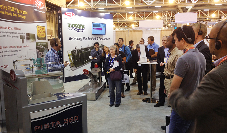 S&L Exhibits at Trade Shows like WEFTEC